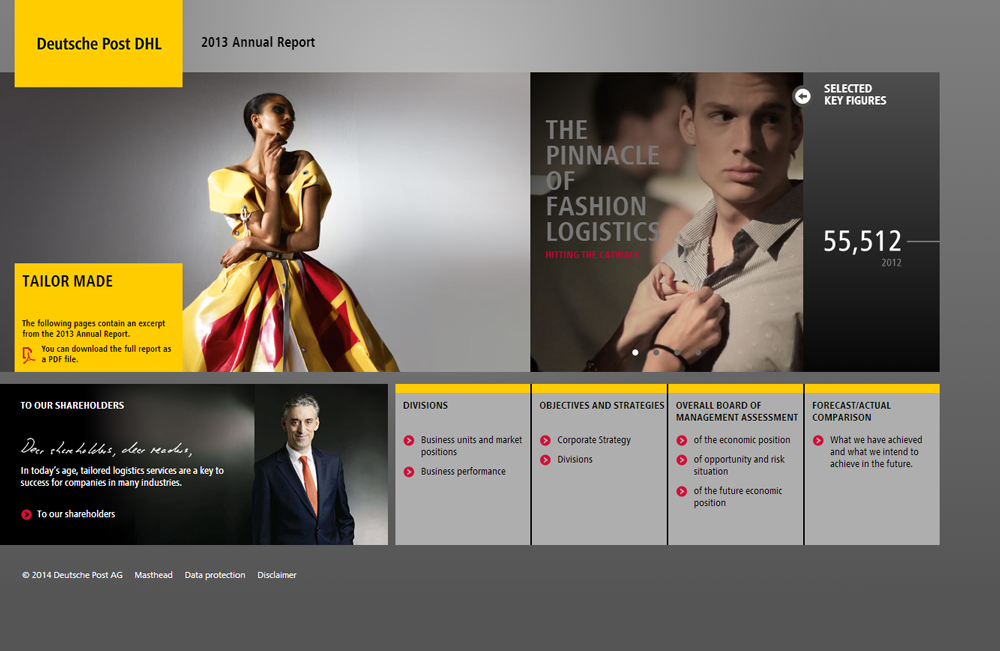 Deutsche Post DHL 2013 Annual Report