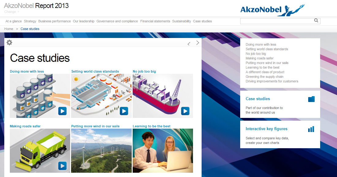 Video AkzoNobel Annual Report