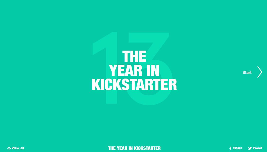 The year in Kickstarter