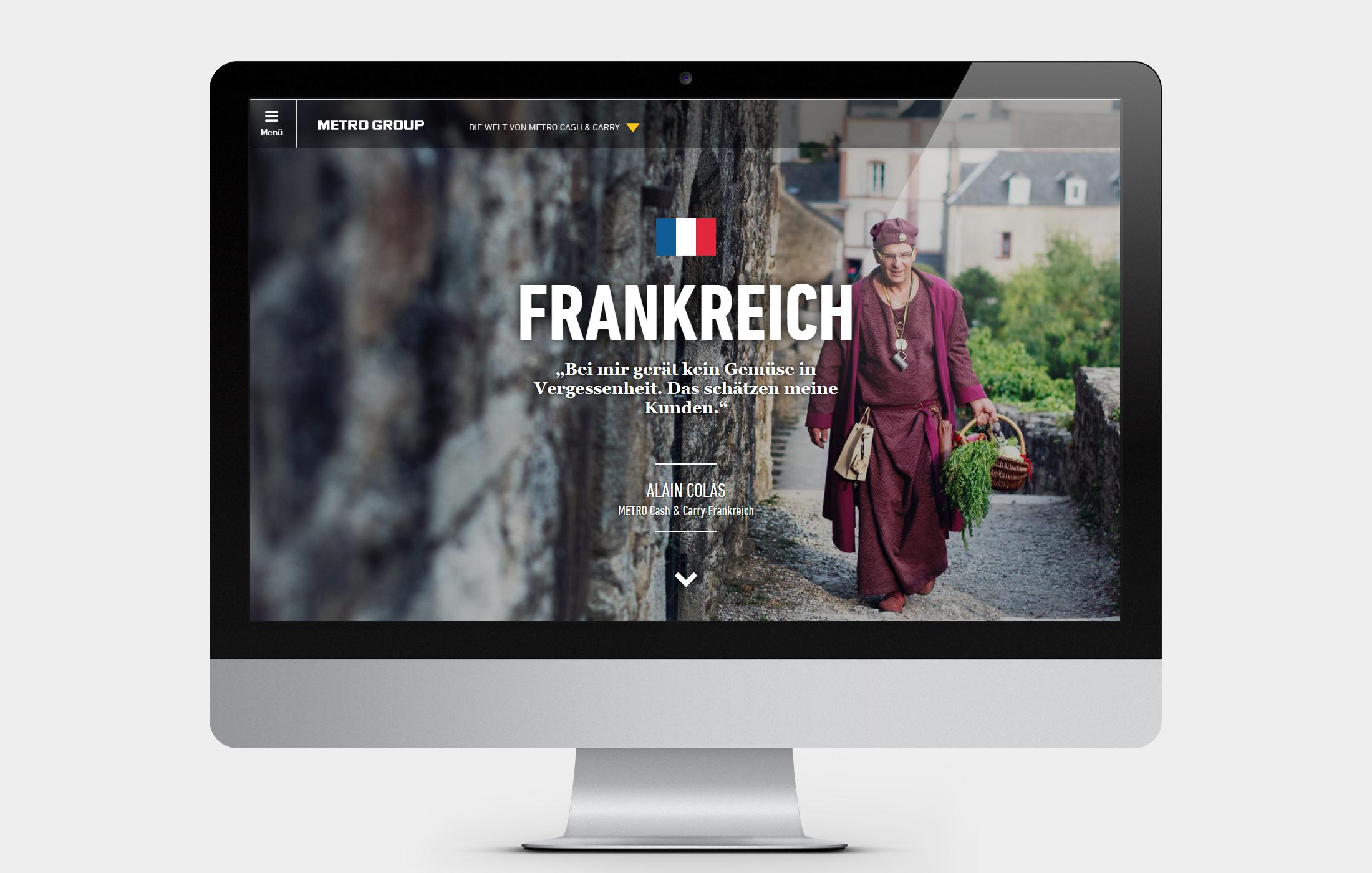 METRO Online-Geschäftsbericht - Frankreich