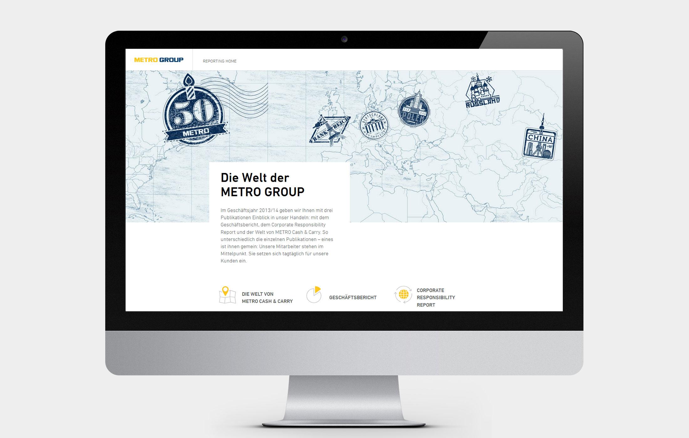 METRO Online-Geschäftsbericht