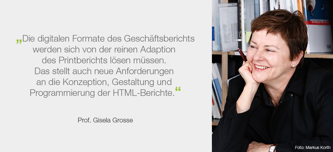 Prof. Giesela Grosse - Foto: Markus Korth