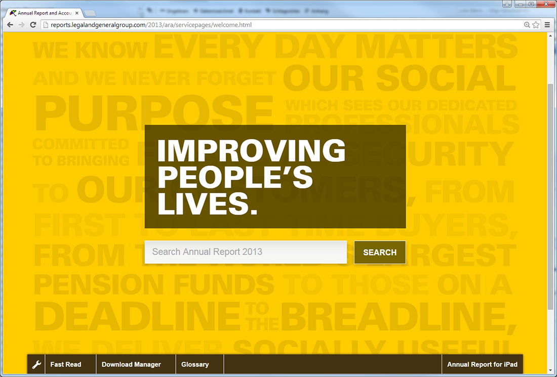 Legal and General - Online Annual Report