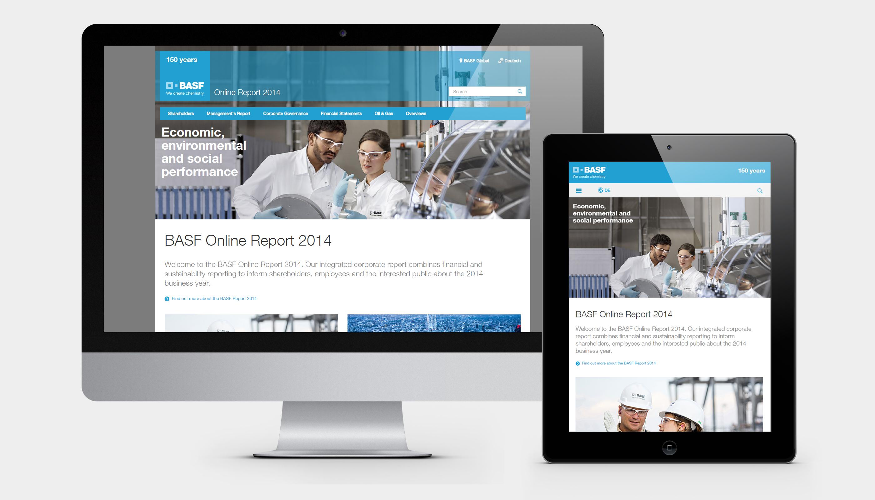 BASF Online-Geschäftsbericht