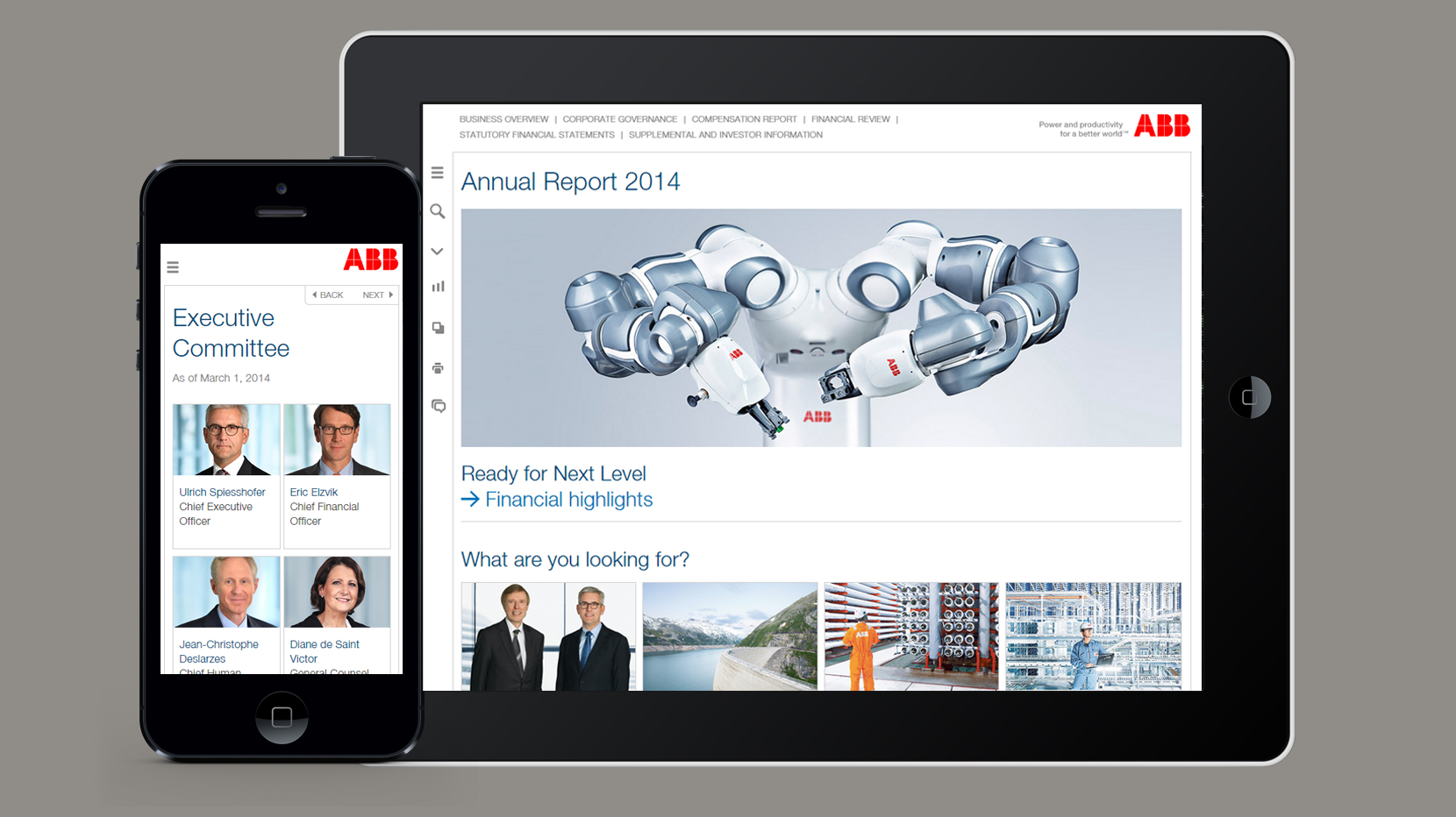 ABB Online Annual Report 2014