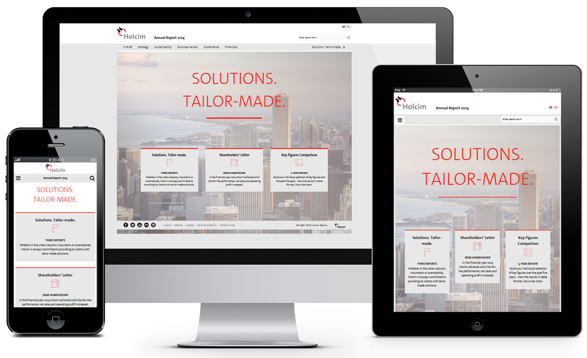 Holcim HTML Annual Report 2014