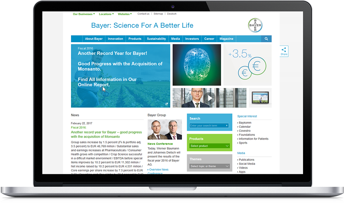 investor relations bayer