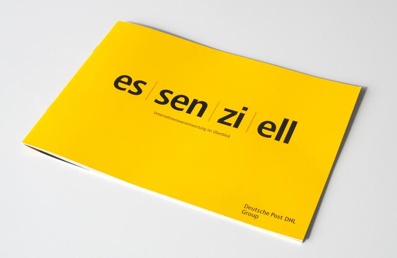 Deutsche Post - Nachhaltigkeitsbericht 2015