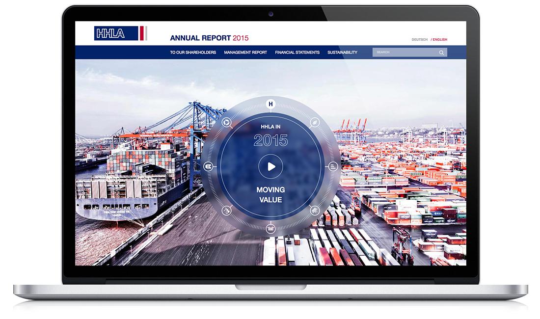 HHLA - Interaktiver Geschäftsbericht