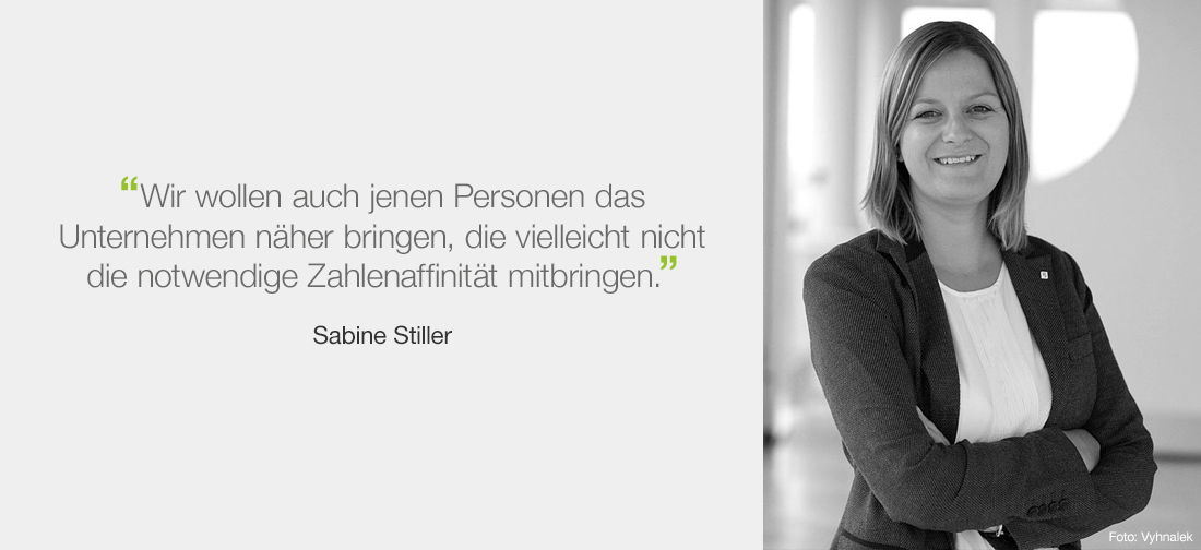 Sabine Stiller - VIG Geschäftsbericht