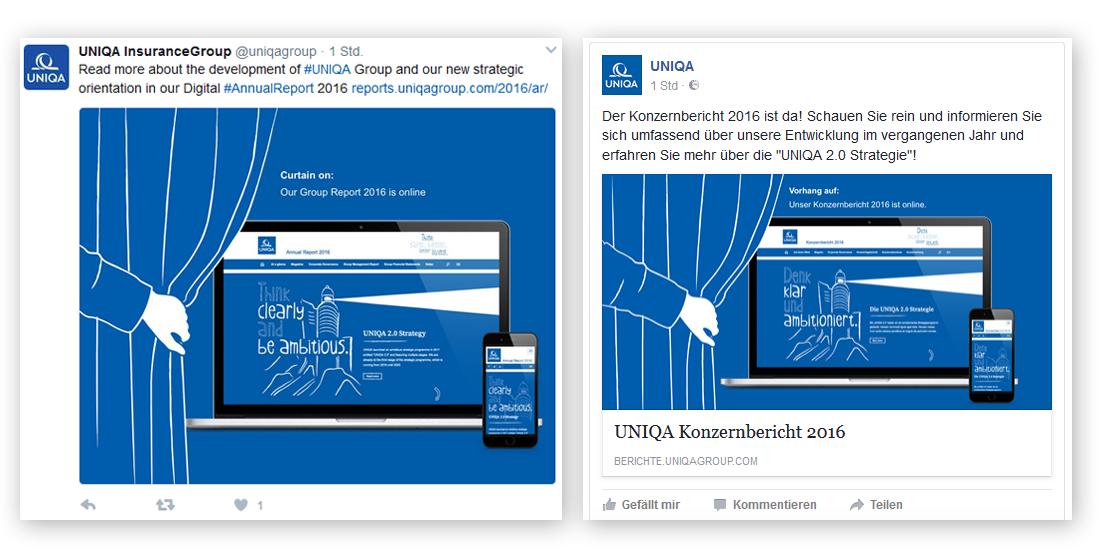 Uniqa Annual Report Teaser