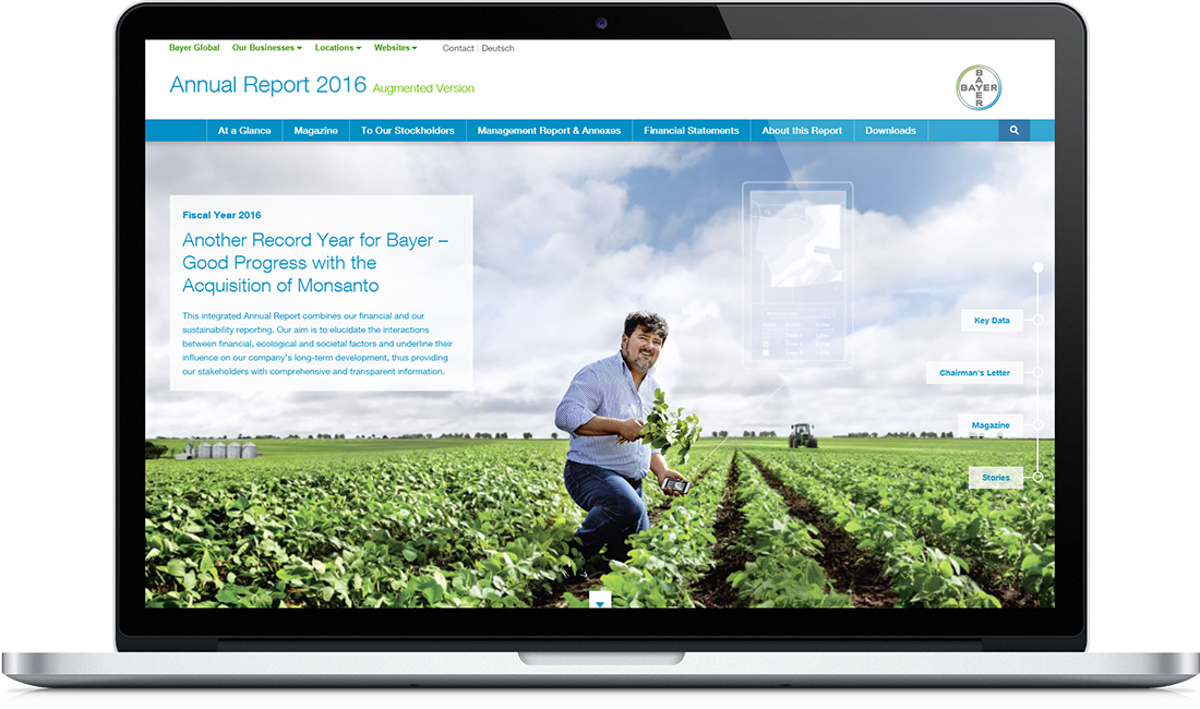 Bayer Integrated Report 2016 - nexxar lab