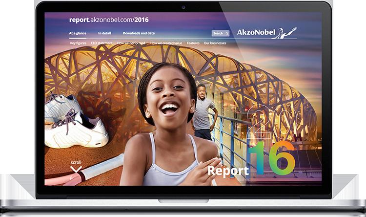 AkzoNobel Online Annual Report 2016