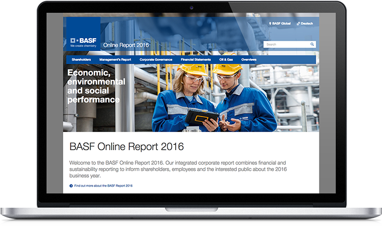 BASF Online Annual Report 2016