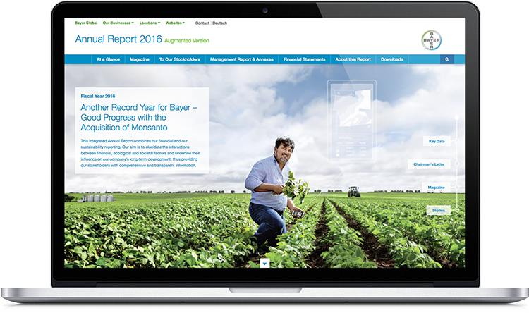 Bayer Online Annual Report 2016