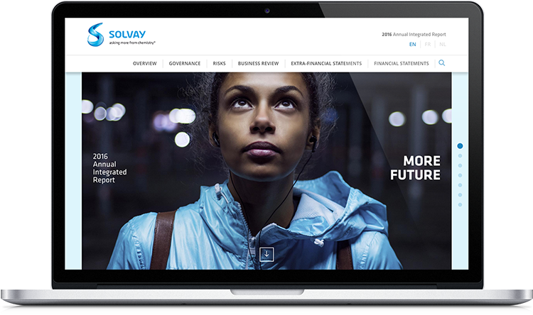 Solvay Online Annual Report 2016