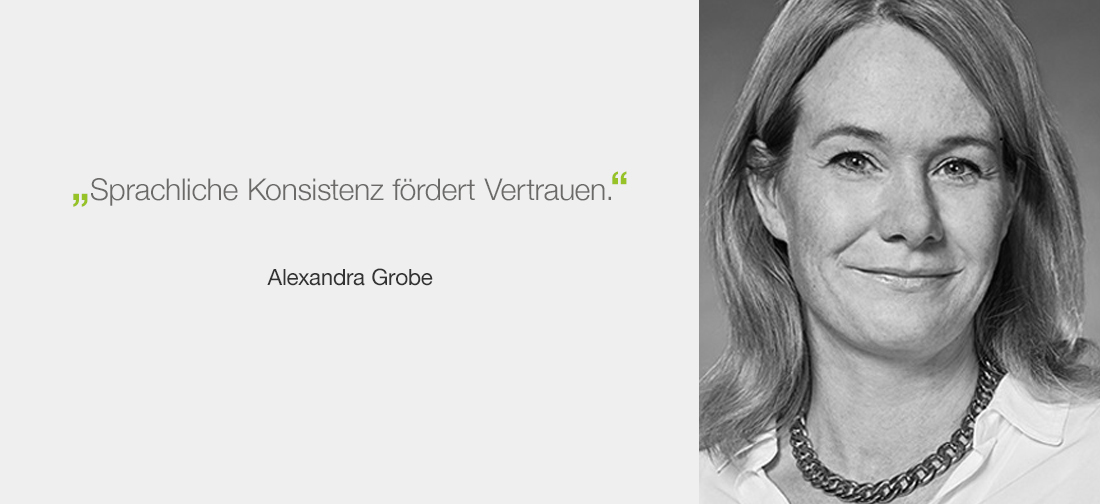 Alexandra Grobe, Berichtsmanufaktur