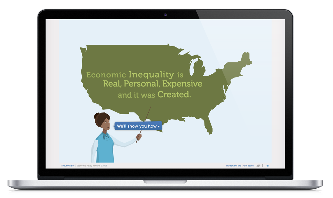 Campaign on income equality
