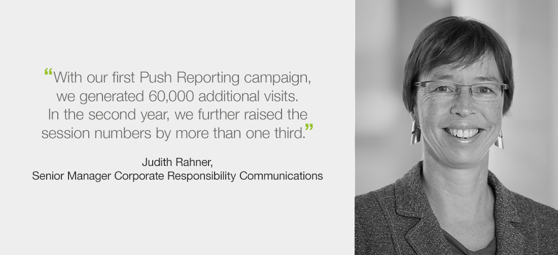 Interview on Push Reporting with Judith Rahner